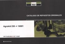 AGROKID 230 ->16001 - Catalogo de repuestos originales