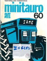 MINITAURO 60 - Operating and maintenance