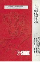 KRYPTON 95-105 e F 80-90-100 - Libretto uso & manutenzione