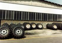 Stabilimento Same - Nuova area stoccaggio ruote