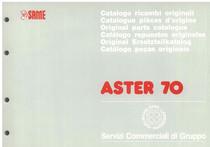 ASTER 70 - Catalogo Parti di Ricambio / Spare parts catalogue / Catálogo peças originais