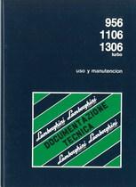956 - 1160 - 1306 Turbo - Uso y Manuntecion