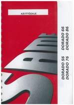 DORADO 56 - 66 - 76 - 86 - Käyttöhje