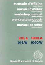 MOTORI - 916.A - 916.W - 1000.A - 1000.W - Workshop Manual