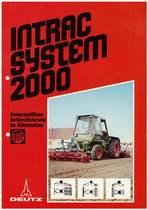 INTRAC SYSTEM 2000 - KOMPROMISSLOSE RATIONALISIERUNG IM RÜBENANBAU