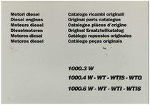 MOTORE 1000.3W- 1000.4W- 10006W - Catalogo Parti di Ricambio / Catalogue des Pièces de Rechange / Spare Parts Catalogue / Catàlogo Piezes de Repuesto / Ersetzteilkatalog / Catálogo de Peças Originais