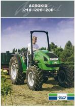 AGROKID 210 - 220 - 230 Evolving agriculture