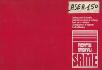 LASER 150 - Catalogo parti di ricambio / Catalogue des pièces de rechange / Spare parts catalogue / Catalogo piezas de repuesto / Ersatzteilkatalog