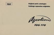 AGROTRON 106 - AGROTRON 110 - Original parts catalogue / Catalogo repuestos originales