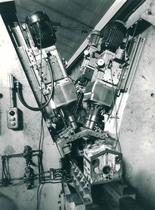 Stabilimento Same - Reparto officina - Particolare di trasnfer