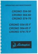 CRONO 554-50 - 564-60 - 574-70 e F - Use and Maintenance