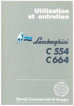 C 554 - C 664 - Utilisation et Entretien