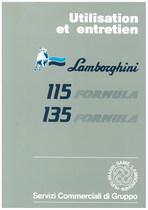 115 FORMULA/135 FORMULA - Utilisation et Entretien