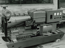Motore SAME/ADIM a 4 cilindri per gruppo elettrogeno