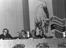 Convention concessionari Lamborghini in occasione della Fiera EIMA di Bologna del 1983