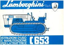 C 653 - Libretto uso & manutenzione