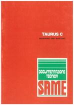 TAURUS C - Bedienung und wartung