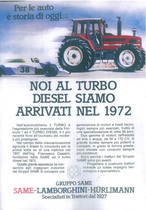 Noi al turbo diesel siamo arrivati nel 1972