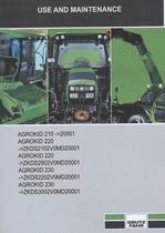 AGROKID 210 ->20001 - AGROKID 220 ->ZKDS2102V0MD20001 - AGROKID 220 ->ZKDS2902V0MD20001 - AGROKID 230 ->ZKDS2202V0MD20001 - AGROKID 230 ->ZKDS3002V0MD20001 - Use and maintenance