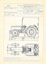 Atto di omologazione della trattrice SAME Frutteto 60 II V