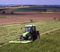 [Deutz-Fahr] trattore Agroplus 80 con falciatrice