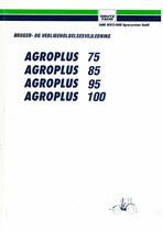 AGROPLUS 75-85-95-100 - Bruger-og vedligeholdelsesvejledning