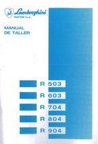 R 503 - 603 - 704 - 804 - 904 - Manual de Taller