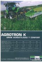 AGROTRON K Gran versatilidad y confort