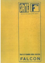 FALCON - Catalogo ricambi originali / Catalogue pièces d'origine / Original parts catalogue / Original Ersatzteilkatalog / Catálogo repuestos originales