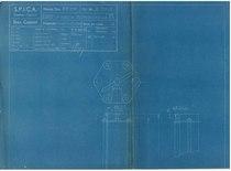 """""""Motore B 8/110 - Gruppo VII: Pompe. Commessa 1720"""""""