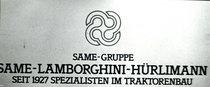 Presentazione prodotti del Gruppo Same- Lamborghini e Hürlimann