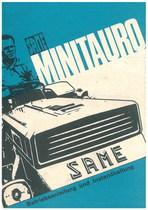 MINITAURO - Bedienung und wartung
