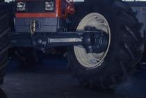 [SAME] dettaglio sterzata di trattore Same