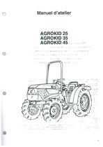 AGROKID 25-35-45 - Manual d'atelier