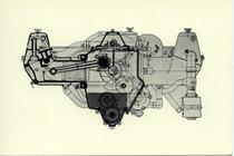 Pubblicitaria - Pavesi Tolotti - P4 - Sezione longitudinale del motore