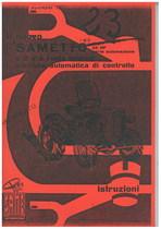 SAMETTO 120 - 22 HP - Libretto uso & manutenzione