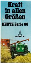 DEUTZ SERIE 06 - KRAFT IN ALLEN GRÖSSEN