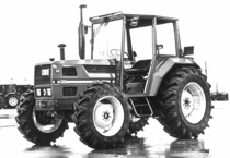 Trattore SAME Explorer 65 a 4 ruote motrici