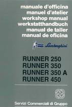 RUNNER 250 - 350 - 350 A - 450 - Manual de Taller
