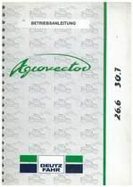 AGROVECTOR 26.6 - 30.7 - Betriebsanleitung
