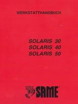 SOLARIS 30 - 40 - 50 - Werkstatthandbuch