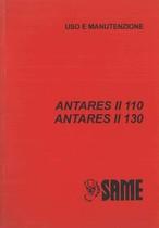 ANTARES II 110 - 130 - Libretto uso & manutenzione