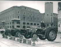 Lancio del trattore SAME Leone 70 a Brescia