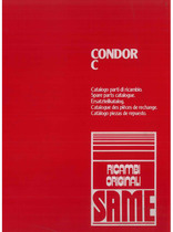 CONDOR C - Catalogo Parti di Ricambio / Catalogue de pièces de rechange / Spare parts catalogue / Ersatzteilliste / Lista de repuestos
