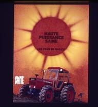 [SAME] campagna pubblicitaria in francese del trattore Buffalo 130
