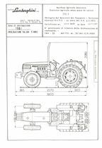 Atto di omologazione della trattrice Lamborghini 775 F