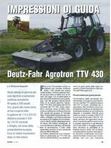 Impressioni di guida Deutz-Fahr Agrotron TTV 430