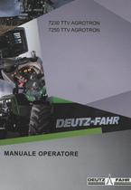 7230 TTV AGROTRON - 7250 TTV AGROTRON - Manuale operatore