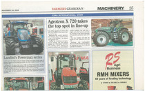 Agrotron X 720 takes the top spot in line-up
