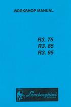 R3 75 - R3 85 - R3 95 - Workshop manual